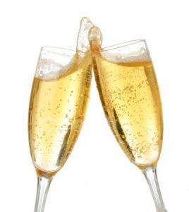Champagne overwinning